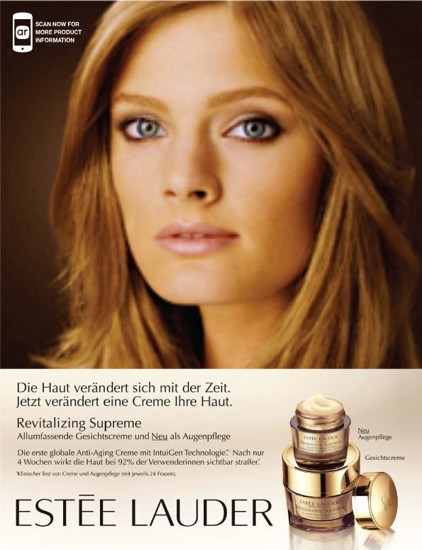 This was an advert from German Vogue.