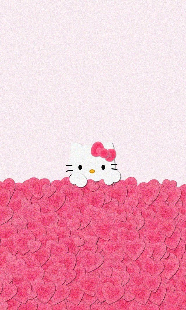 158 sanrio pinterest hello kitty pink love iphone wallpaper home screen voltagebd Images