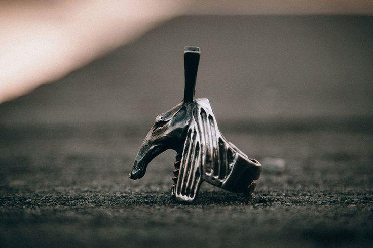 """Silver ring """"Seth"""""""