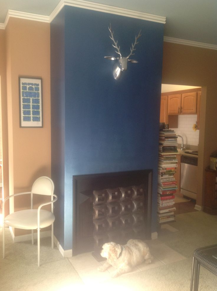 New Chrome Stag Mount: Replaces A Picture / Fireplace Paint, Ralph Lauren  Royal Metallic