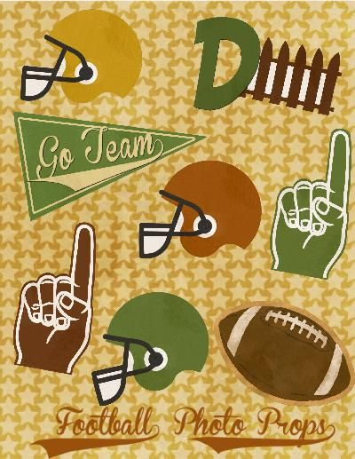 Vintage Football Party