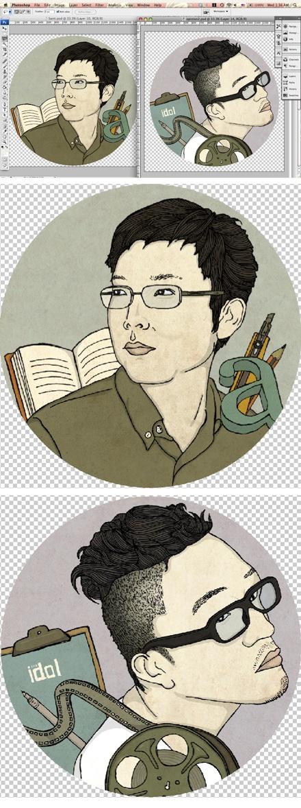 portraits for Computer arts