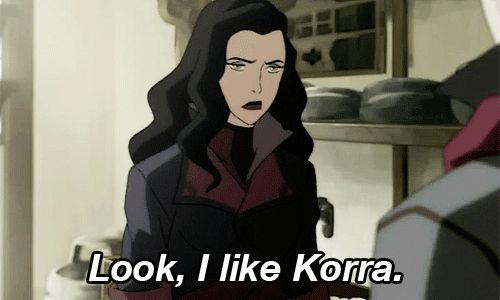 """Fans have shipped Korra and Asami since Season 1 when they were competing over the same sad boy (sorry Mako).   """"Legend Of Korra"""" Creators Confirm The Show's First Same-Sex Couple"""