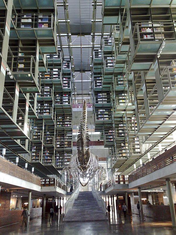 Jose Vasconcelos Library, Mexico City
