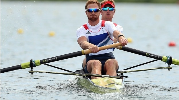 Will Satch and George Nash Bronze in the Men's coxless pairs.