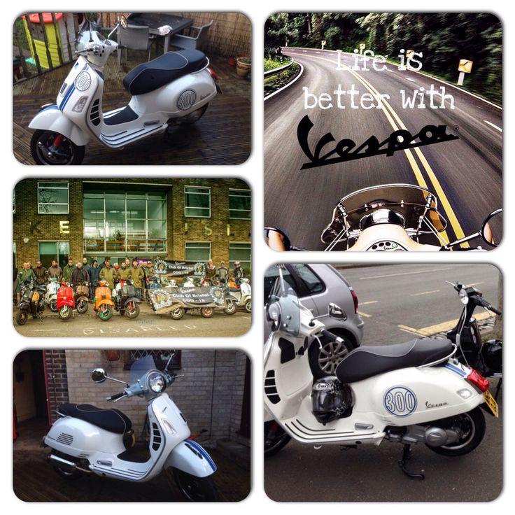 12 best Vespa GTS Collection images on Pinterest | Vespa gts, Motor ...