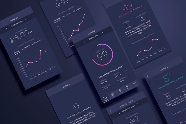 Eight App on Behance