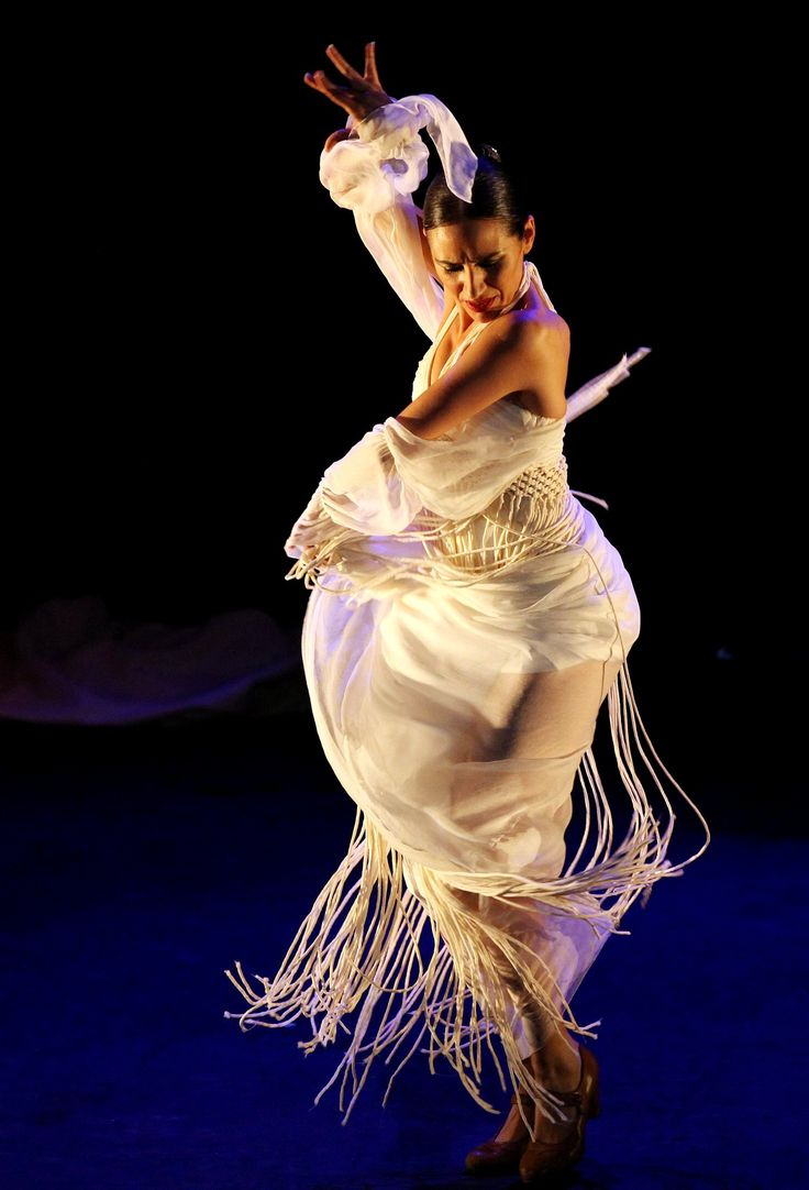 Anabel performing on stage #Flamenco #dance