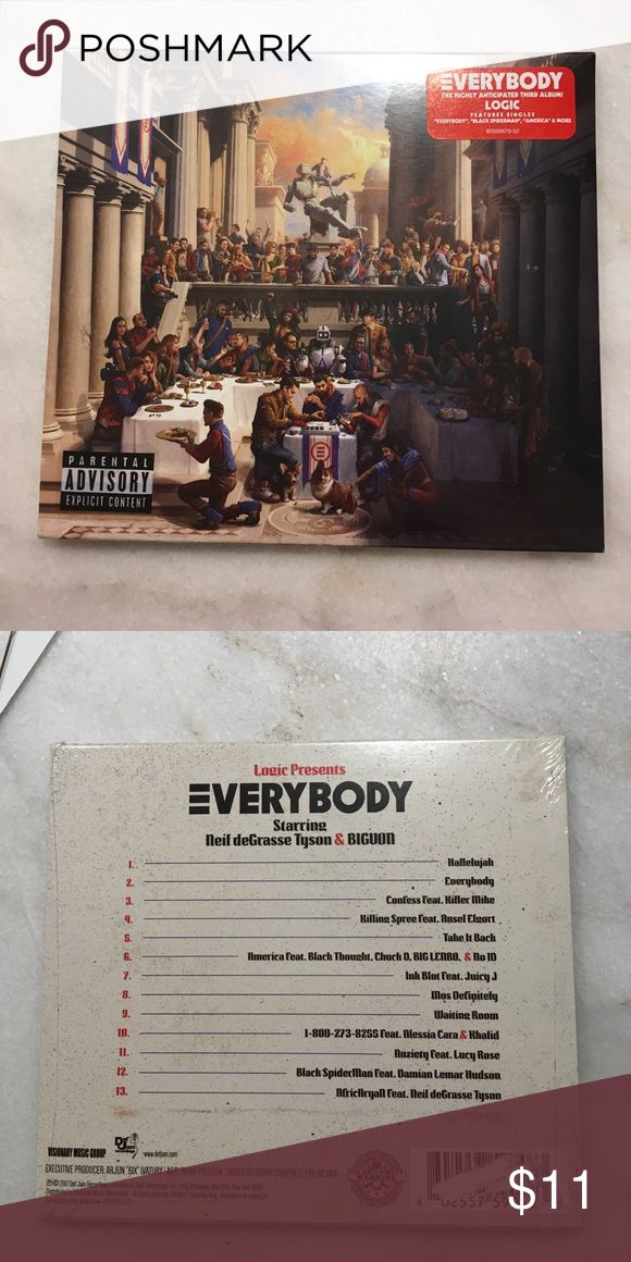 Logic Album Everybody album. Brand new unopened. Other