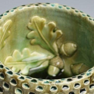 Kate Malone: A Small Acorn Bowl, 2010