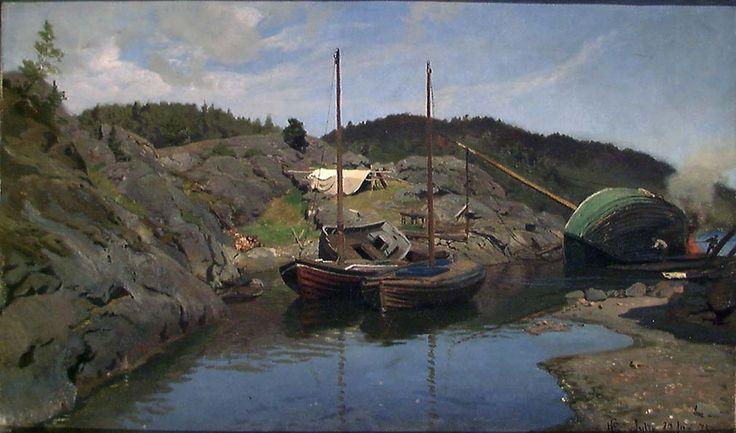 1875. Olje på lerret