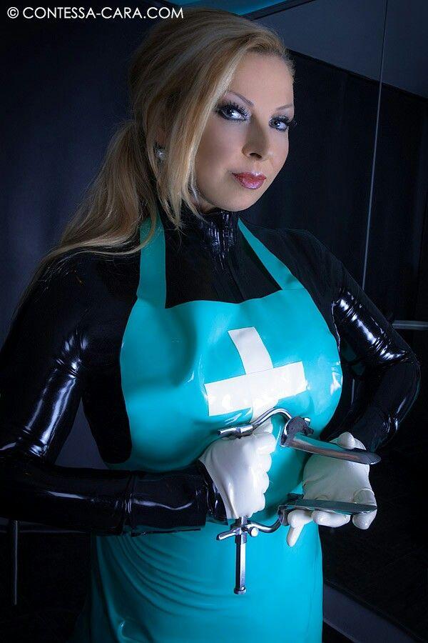 Clinical femdom nurse