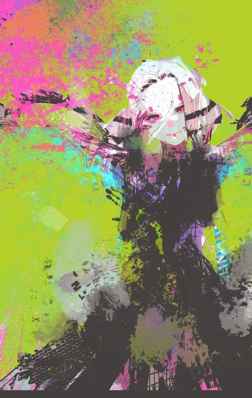 Nouveau #tableau en guise de pause dans son travail, par @sotonami, l'auteur de…
