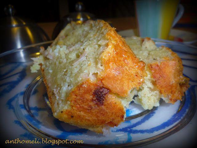 Ανθομέλι: Το αλμυρό κέικ που θα σας ενθουσιάσει!