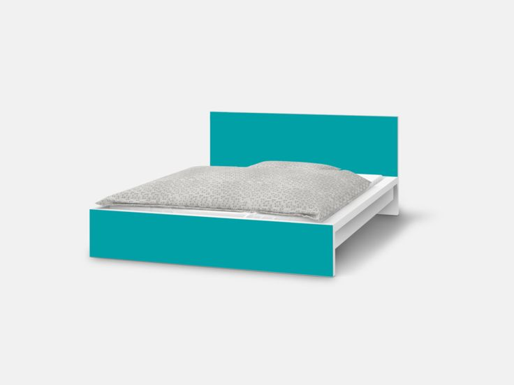 die besten 25+ malm bett ideen auf pinterest - Schlafzimmer Mit Malm Bett