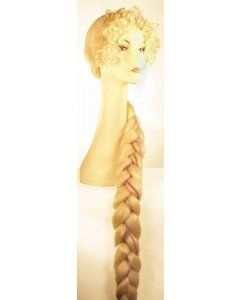 Braided Rapunzel Tangled Movie Princess Wig by Lacey Costume Price: $36.54