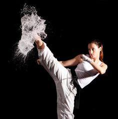taekwondo girl kick - Google Search