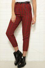 Renewal O&O Tartan Trousers at Urban Outfitters
