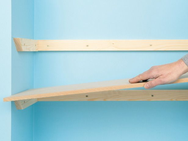 homemade shelves | DK - Do It Yourself Home Improvement © 2009 Dorling Kindersley ...