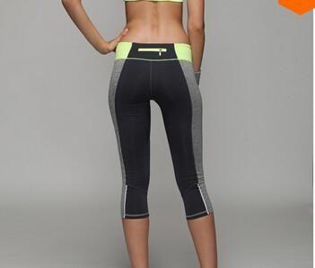 Yoga Pants Sport tights Fitness Leggings Gym Sweatpants Exercise Capris