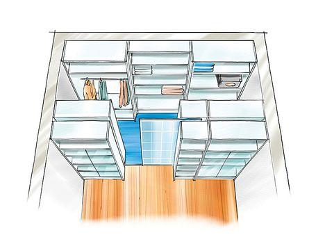 Begehbarer kleiderschrank selber bauen im schlafzimmer  Die besten 25+ Begehbarer kleiderschrank dachschräge Ideen auf ...