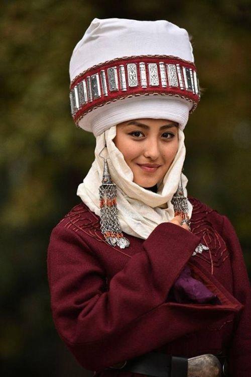 Chica kazaja.