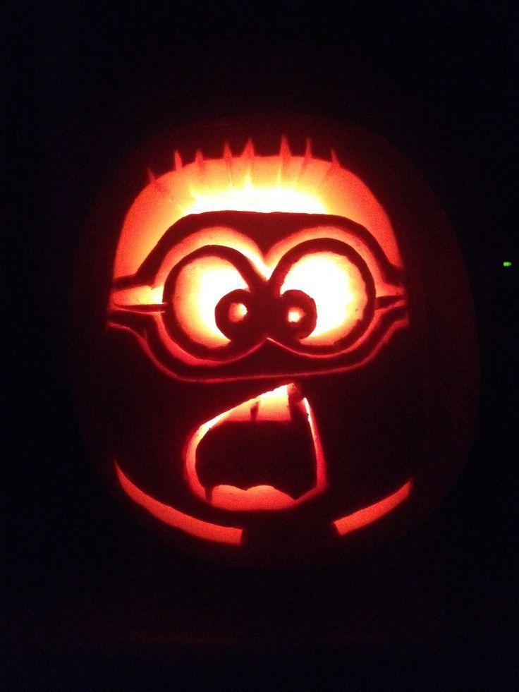 Best minion pumpkin ideas on pinterest no carve