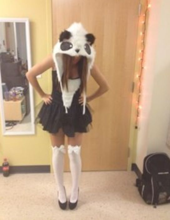 Panda costume for girls ♥️