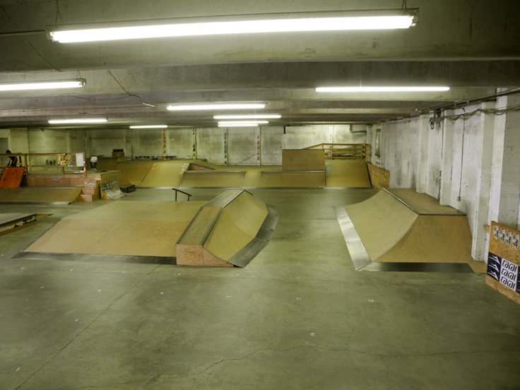 Inner Space Skatepark, Seattle. WA.