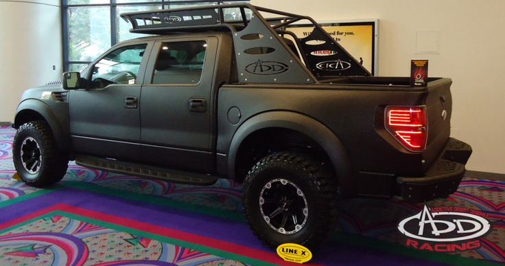 Ford Raptor Chase Rack Automotive Magnificence