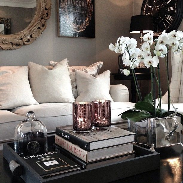 coffee table decor - How To Decorate A Coffee Table