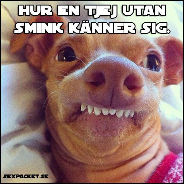 Tjejer Utan Smink