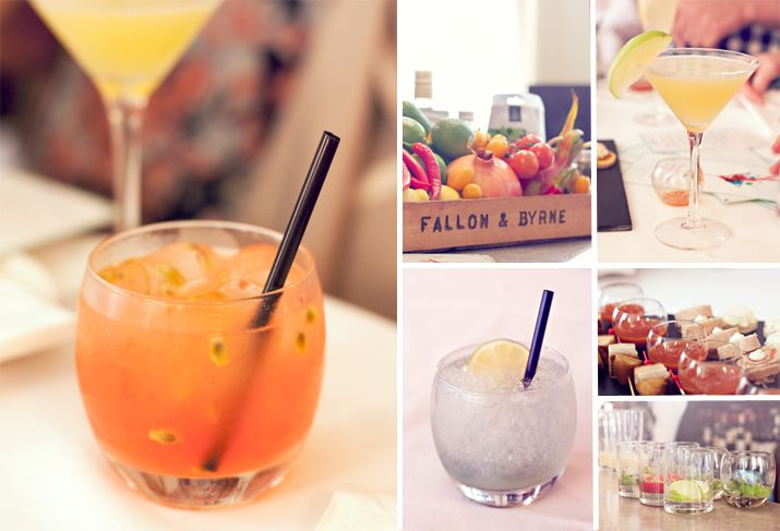 Cocktails made using fresh ingredients from the Food Hall | City of Blackbirds Photography