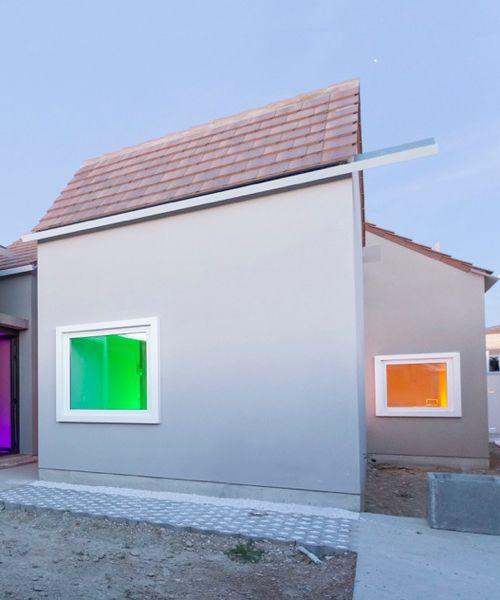 sergio sebastián's 'house JI' reinterprets the traditional model of housing in the desert