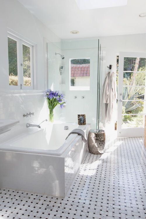 a welcoming bath and a stylish space designed by ryan white designs bath