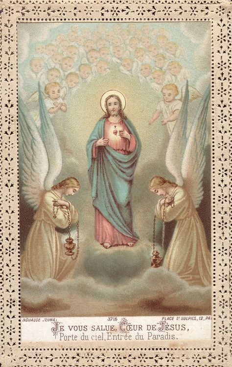 I salute You, Heart of Jesus, Door of Heaven, Entrance to Paradise.