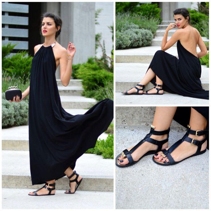 Η Vayia Kala, Blogger από το Pink Cloud Land by Vayia Kala, με σανδάλια #SanteShoes από τη νέα Collection Summer 2014 #SanteLook #SanteBloggersSpot