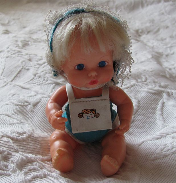 My fave dolls when I was little were Tiny Tears and this little doll called Sweet April :)