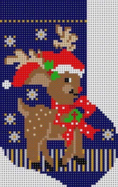 Reindeer Mini Sock 3