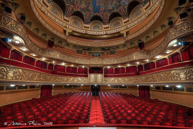 Timisoara - Inside of the Opera House (concert hall) by Antonius Plaian, via Flickr Europe has such magnificent history
