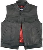 Legendary Reaper Leather Vest *LD-7208*