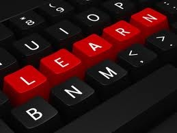 E learning is  the use of technology to enable people to learn anytime and anywhere.