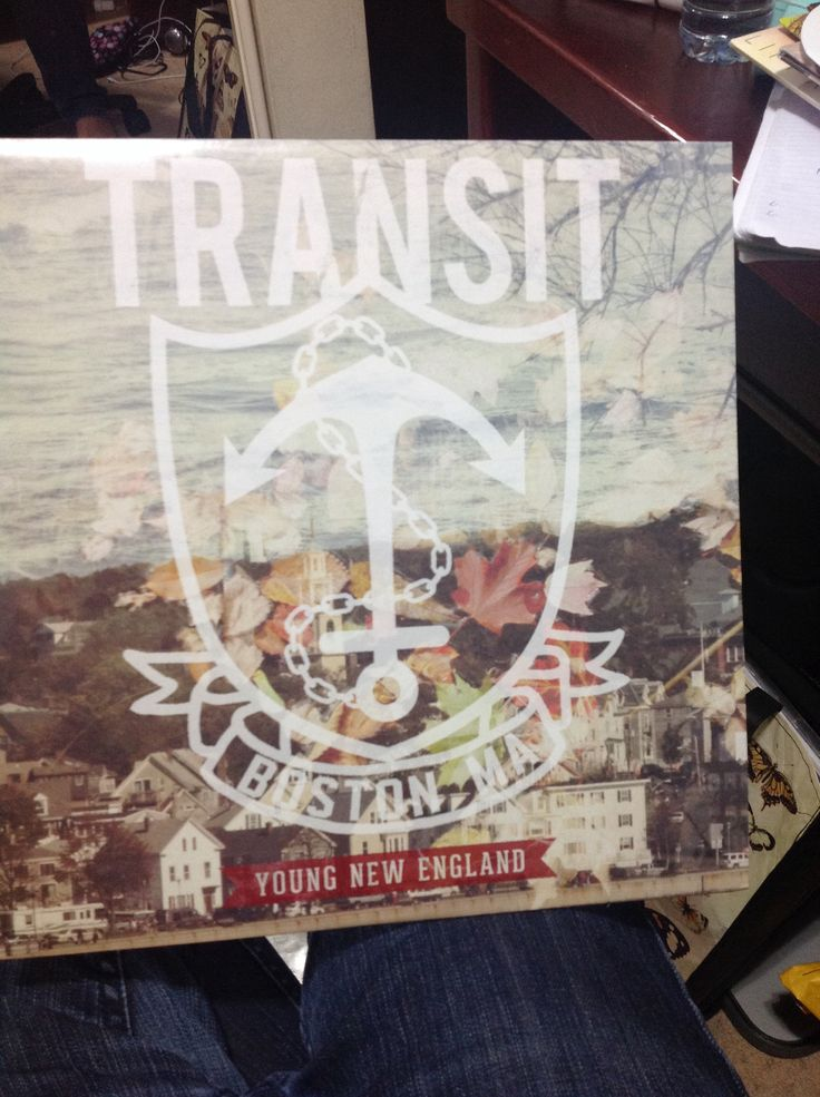 "Transit ""Young New England"" LP"