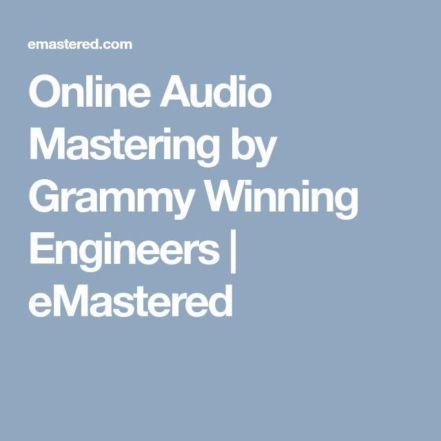 Online Audio Mastering by Grammy Winning Engineers | eMastered