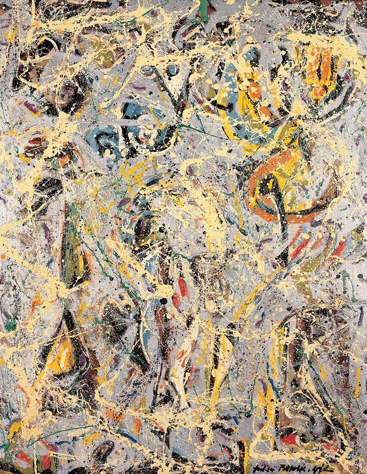jackson pollock | Galaxy - Jackson Pollock - WikiPaintings.org