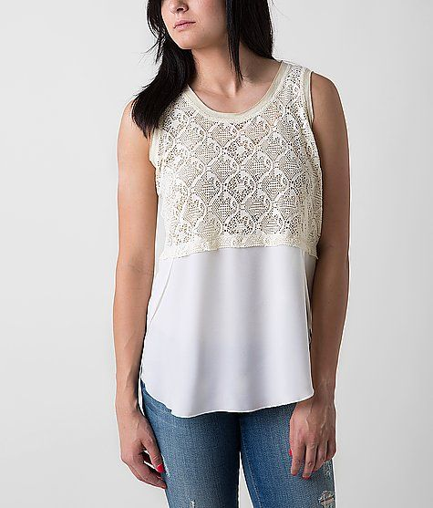 Jolt Laser Cut Tank Top
