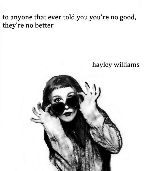 Hayley Williams #quote