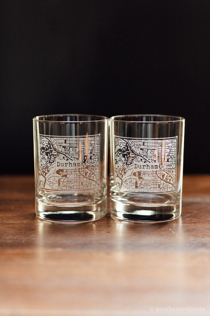 Buy a durham college town rocks glass set at Bourbon & Boots. Shop all Glassware online.