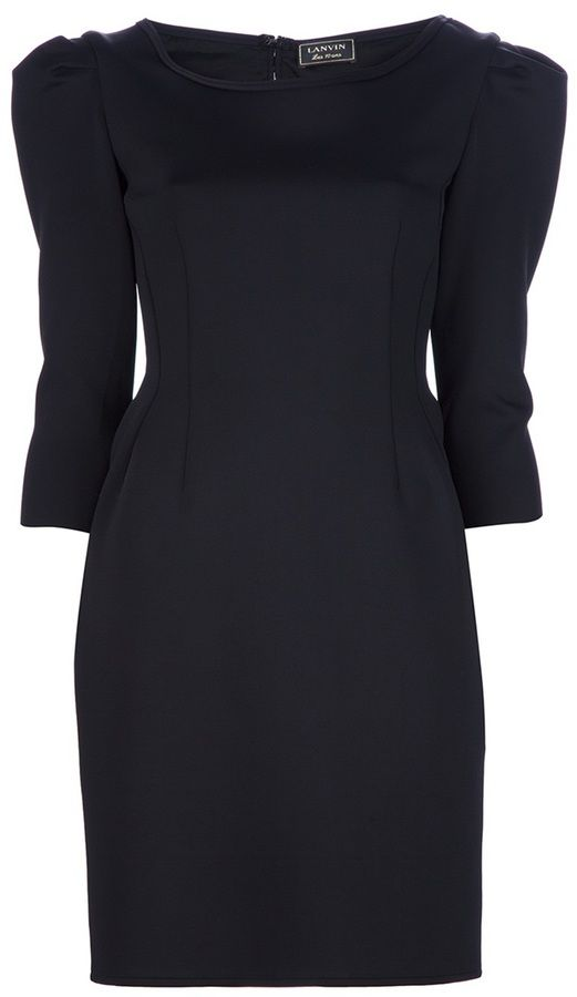 Lanvin structured fitted dress on shopstyle.com