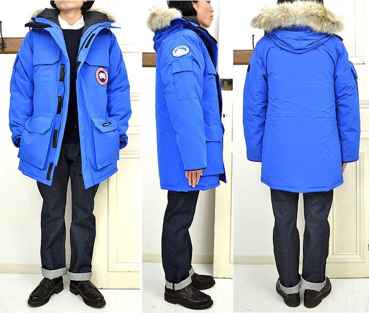 canada goose pbi expedition parka blue men's